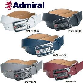 アドミラル ゴルフウェア Admiral メンズ 合皮 ベルト ADMB8FV1
