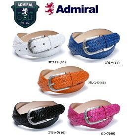 アドミラル ゴルフウェア メンズ 合皮 イントレ柄 ベルト ADMB6SV3