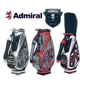 アドミラル ゴルフ Admiral Golf 杢調擦れプリント キャディバッグ 2019 ADMG9SC4