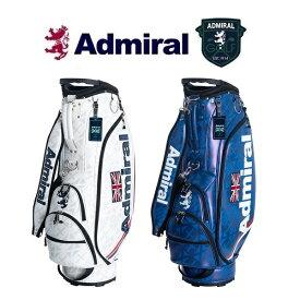 アドミラル ゴルフ Admiral Golf フラッグ・プリント キャディバッグ ADMG9FC5 2019年秋冬モデル