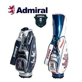アドミラル ゴルフ Admiral Golf ランパントフラッグ レンチキュラー キャディバッグ ADMG9FC1 2019年秋冬モデル