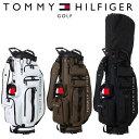 トミー ヒルフィガー ゴルフ TOMMY HILFIGER GOLF ソリッド キャディバッグ SOLID CADDIE BAG THMG0FC4 2020年モデル