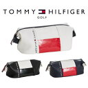 トミー ヒルフィガー ゴルフ TOMMY HILFIGER GOLF THE FACE ポーチ THMG7SB4