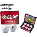 ブリヂストン ゴルフボール TOUR B X Carp ホワイト 半ダース (6個入り) 新品 カープボール