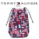 トミー ヒルフィガー ゴルフ TOMMY HILFIGER GOLF MULTI FLAG シューズケース THMG9FSZ 2019年モデル