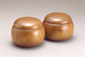 木製碁笥 クス 上特大(〜36号)(日本棋院)