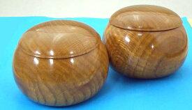 手作木製碁笥 楢(なら)超特大38号