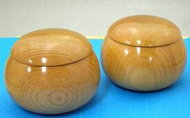 高級 手作木製碁笥 欅(けやき)極上超特大38号