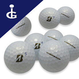 【送料無料】ブリヂストンゴルフTOURB XS '17 Bマークエディションカラー:パールホワイト★★ランク/2ダース【中古】ロストボール ゴルフボール