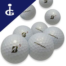 【送料無料】ブリヂストンゴルフTOURB X '17 Bマークエディションカラー:パールホワイト★★ランク/2ダース【中古】ロストボール ゴルフボール