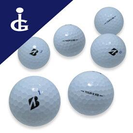 【訳あり】ブリヂストンゴルフ TOUR BXS '20 Bマークエディションカラー:ホワイトコマーシャル・オウンネームボール2ダース【中古】ロストボール ゴルフボール