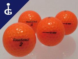 【送料無料】ツアーステージ S100カラー:スーパーオレンジ★★★ランク/3ダースロストボール ゴルフボール【中古】