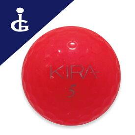 キャスコ キラクレノ'14カラー:ルビー★★ランク/バラロストボール ゴルフボール【中古】