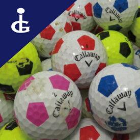 【訳あり】【送料無料】キャロウェイ トゥルービス色々50個セットロストボール ゴルフボール【中古】