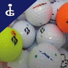 ブリヂストンゴルフJGRマジックボール カラー混ぜ・30個セット 訳あり ロストボール  ゴルフボール【中古】