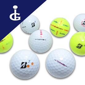 ブリヂストンゴルフ TOURBXS'20Bマーク カラー色々マジックボール/30個セット 訳あり ロストボール ゴルフボール【中古】
