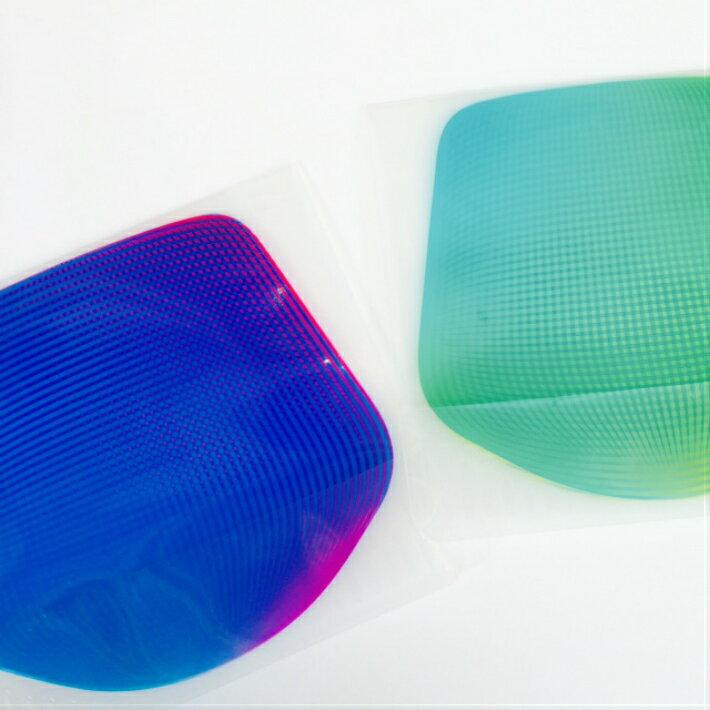 【D-BROS】フラワーベースミニ フラワーベースミニ グリーン&ブルー 715F-GBS(2枚入り) 花瓶 ネコポス便(378円)利用可プチギフト
