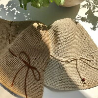 ギフトにもおすすめです【sasawashi(ささ和紙)】手編み帽子抗菌・消臭・洗濯可能・紫外線対策