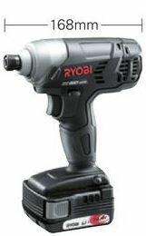 リョービ/RYOBI【BID-1415】充電式インパクトドライバ 14.4V 1500mAh容量Li-ion電池