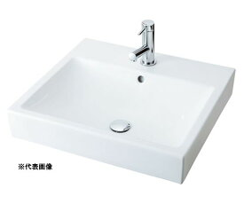 ###INAX/LIXIL 角形洗面器 ベッセル式【YL-A536SYA(C)】(スクエアタイプ) シングルレバー混合水栓 床排水(Sトラップ) 壁給水