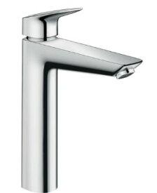 ハンスグローエ【71091000】ロギス シングルレバー洗面混合水栓 190 (ポップアップ引棒無)