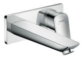 ∬∬ハンスグローエ【71220000】ロギス シングルレバー壁付式洗面混合水栓 195