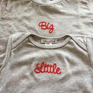 チェーンステッチ刺繍/Little×Big