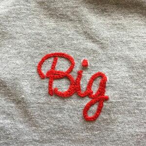 Bigチェーンステッチ刺繍
