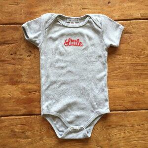 Little刺繍ロンパース