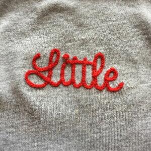 Littleチェーンステッチ刺繍