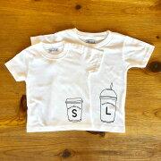 Tシャツ2枚組ギフトセット/コーヒーカップS×L