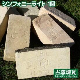 アンティークレンガ 刻印入り国産煉瓦 シンフォニーライト 1個売り 送料別途
