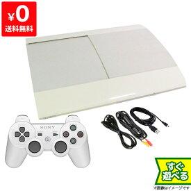 PS3 プレステ3 PlayStation 3 250GB クラシック・ホワイト CECH-4000B LW SONY ゲーム機 すぐ遊べるセット 4948872413374 【中古】