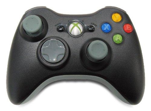 Xbox 360 ワイヤレスコントローラー ブラック ワイヤレスコントローラ ワイヤレス XBOX360 中古 4988648495296 送料無料 【中古】