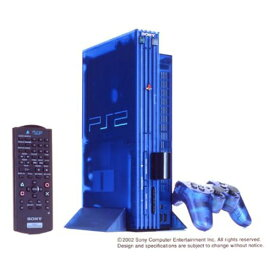 PS2 プレステ2 プレイステーション2 オーシャン・ブルー 本体のみ 本体単品 PlayStation2 SONY ソニー 4948872370103 【中古】