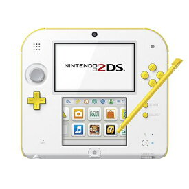 2DS ニンテンドー2DS スーパーマリオパック(ホワイト×イエロー)FTR-S-WDDT 本体 すぐ遊べるセット Nintendo 任天堂 ニンテンドー 4902370535501 【中古】