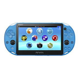 PSVita 2000 PlayStation Vita Wi-Fiモデル アクア・ブルー(PCH-2000ZA23) 本体のみ PlayStationVita SONY ソニー 4948872414050 【中古】