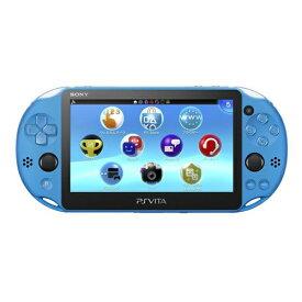 PSVita 2000 PlayStation Vita Wi-Fiモデル アクア・ブルー(PCH-2000ZA23) 本体 すぐ遊べるセット PlayStationVita SONY ソニー 4948872414050 【中古】