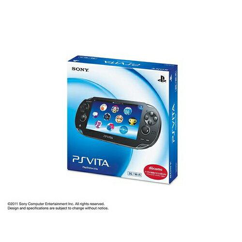 PSVita PlayStation Vita 3G/Wi‐Fiモデル クリスタル・ブラック (PCH-1100 AA01) 本体 完品 外箱付き PlayStationVita SONY ソニー 中古 4948872412858 送料無料 【中古】
