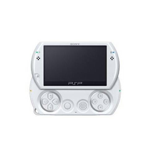 PSPgo PSP go パール・ホワイト (PSP-N1000PW) 本体のみ PlayStationPortable SONY ソニー 中古 4948872412230 送料無料 【中古】