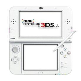 New3DSLL Newニンテンドー3DS LL ピンク×ホワイト(RED-S-PAAA) 本体のみ タッチペン付き Nintendo 任天堂 ニンテンドー 4902370533224 【中古】