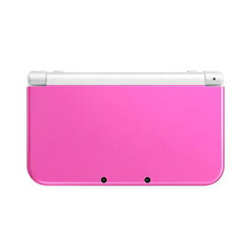 New3DSLL Newニンテンドー3DS LL ピンク×ホワイト(RED-S-PAAA) 本体 すぐ遊べるセット Nintendo 任天堂 ニンテンドー 4902370533224 【中古】