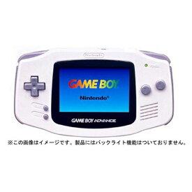 GBA ゲームボーイアドバンス ゲームボーイアドバンス ホワイト 本体のみ 本体単品 Nintendo 任天堂 ニンテンドー 4902370505276 【中古】