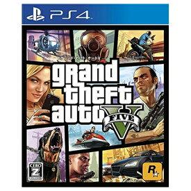 PS4 プレステ4 グランド・セフト・オートV CEROレーティング「Z」 ソフト ケースあり PlayStation4 SONY ソニー 「CERO区分_Z相当」 4571304474034 【中古】