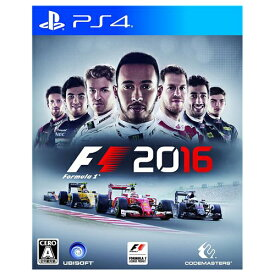 PS4 プレステ4 F1 2016 - PS4 ソフト ケースあり PlayStation4 SONY ソニー 中古 4949244004084 送料無料 【中古】