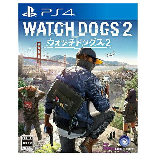 PS4 プレステ4 ウォッチドッグス2 CEROレーティング「Z」 - PS4 ソフト ケースあり PlayStation4 SONY ソニー 中古 「CERO区分_Z相当」 4949244004107 送料無料 【中古】