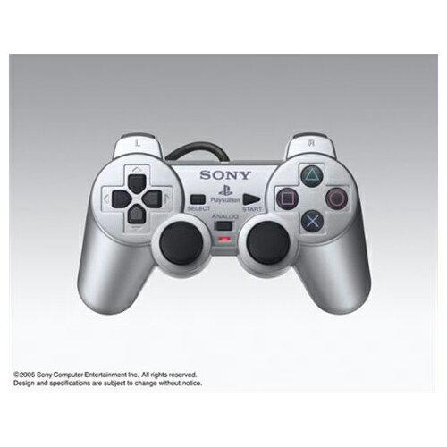 PS2 プレステ2 プレイステーション2 PlayStation2 コントローラー デュアルショック2 DUALSHOCK2 サテン・シルバー 中古 4948872411042 送料無料