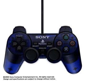 PS2 プレステ2 デュアルショック2 アナログコントローラ DUALSHOCK2 ミッドナイトブルー コントローラー プレイステーション2 SONY ソニー 4948872410236 【中古】