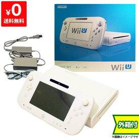 WiiU ニンテンドーWii U ウィーユー ベーシックセット 本体 任天堂 Nintendo 付属品完品 4902370519877【中古】