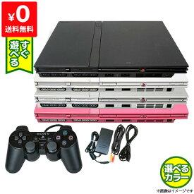 PS2 本体 純正 コントローラー 1個付き すぐ遊べるセット プレステ2 SCPH 77000CB CW SS PK